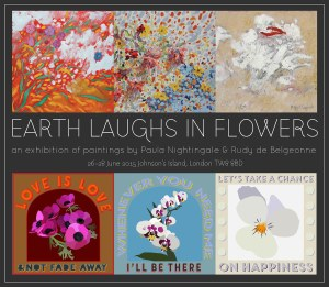 Exhibition of Paintings  27th-28th June 2015 Private view 26th. 6.30pm